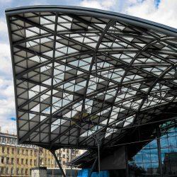 Multimodalny Dworzec Łódź Fabryczna. Świetlik A